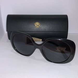 Versace sunglasses and case